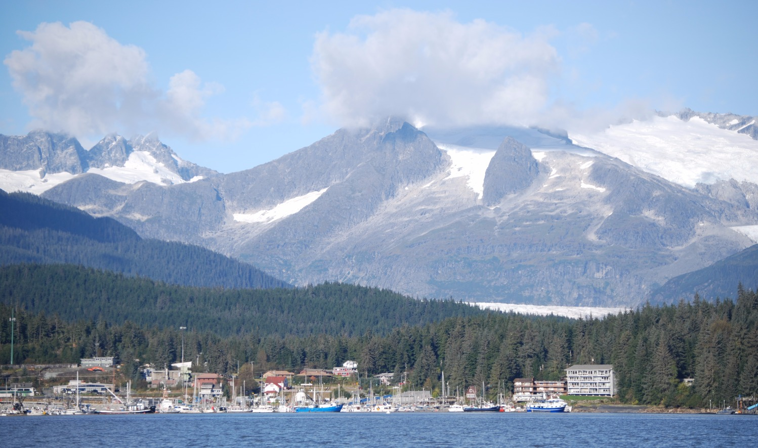 Returning to Auke Bay