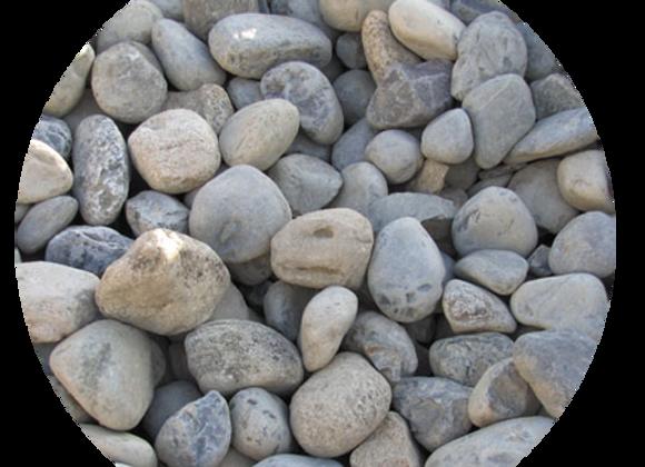 """4-6"""" Multi Color River Stone"""