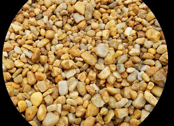 """1/2"""" Yellow Pea Gravel Stone"""