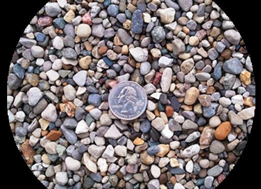 """3/8"""" Multi Color River Stone"""