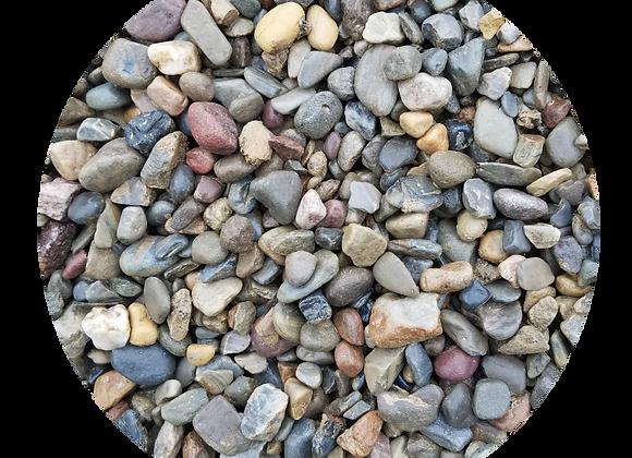 """3/4"""" Multi Color River Stone"""