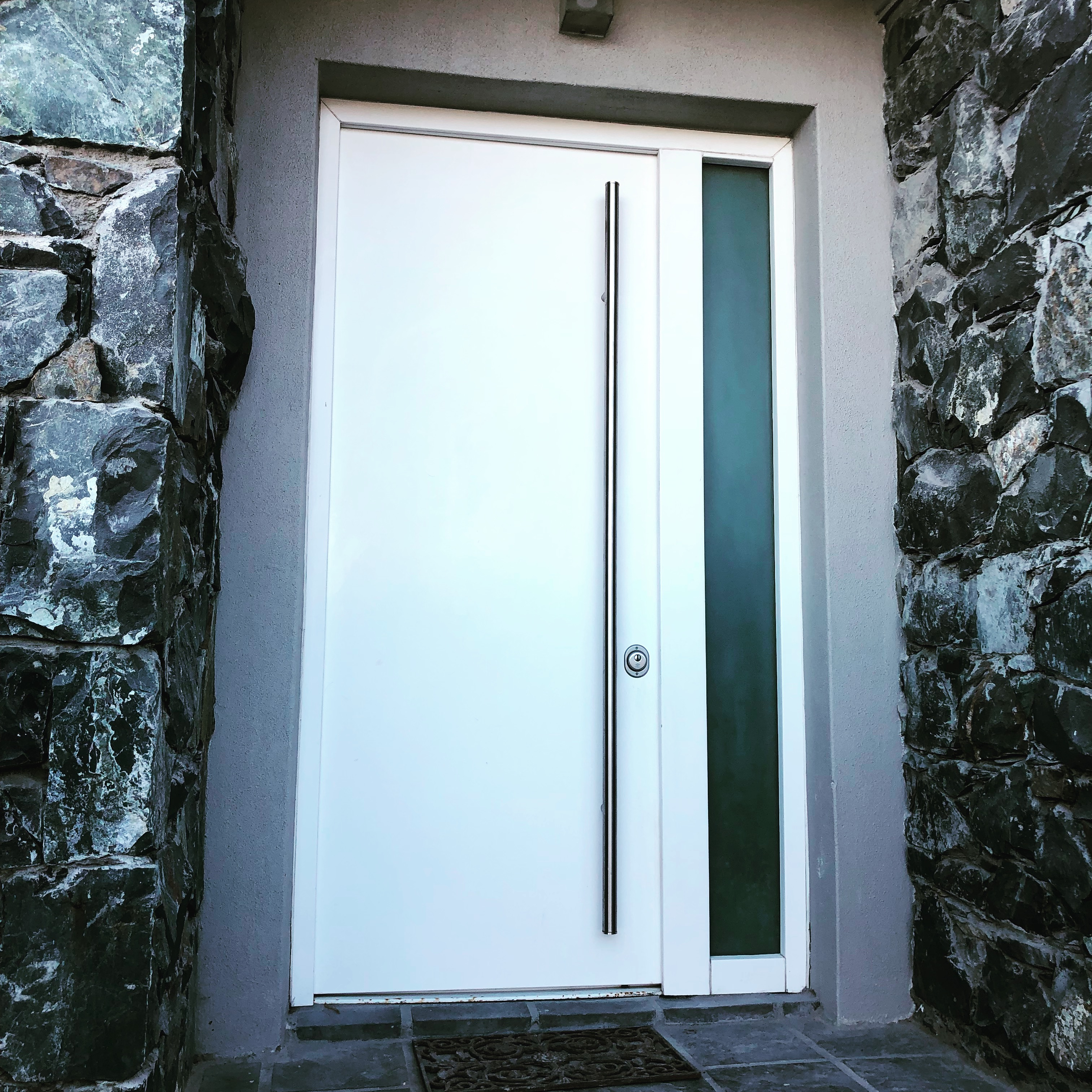 Contemporary security door