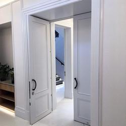 Double high security door