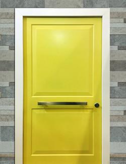Yellow Two panel design