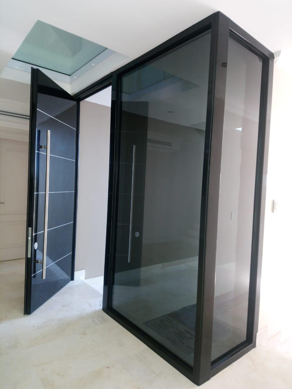 Front High security door