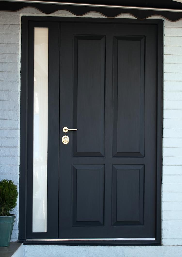 Business entrance door