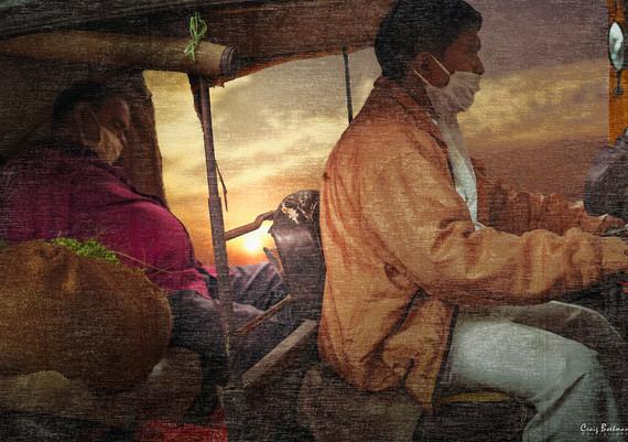 Riding Rickshaw