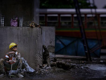Mumbai Construction Worker