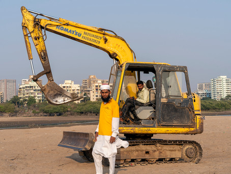 BMC Displacing Methi Farmer Community At Versova Beach