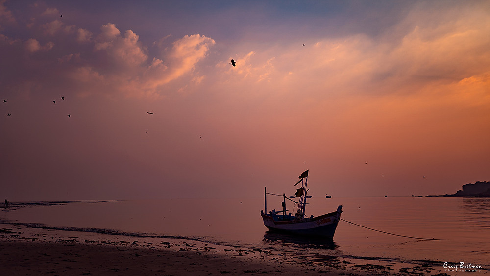 Sunset at Versova Beach