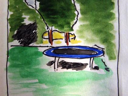 Blog #5: The Trampoline Salesman [short story]
