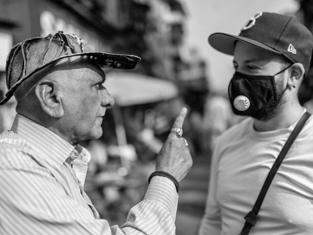 Making Connections In Street Photography