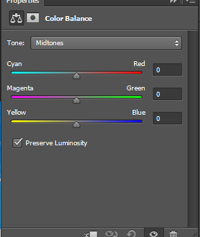 The Color Balance Tool In Photoshop