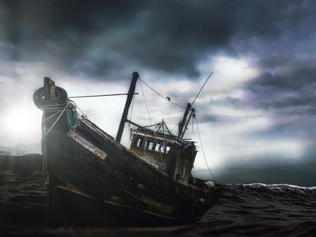 """Ghost Ship"" New Fine Art Print"