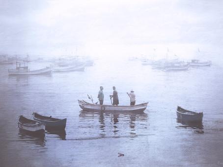 A Scene From Mumbai's Worli Koliwada