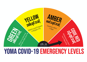 COVID-19 Health Advisory Announcement - Code Red Level Extension
