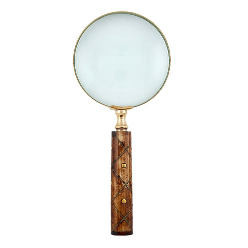 Magnifying Glass Wire Inlay