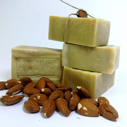 Soap bar - olive oil and ALMOND FLOWER