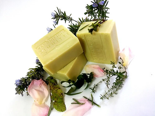 Soap bar - olive oil and WIND of IBLEI (white rose, rosmarin, mint)