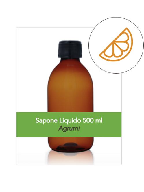Sapone Liquido 500ml all'Olio d'Oliva al profumo di Agrumi