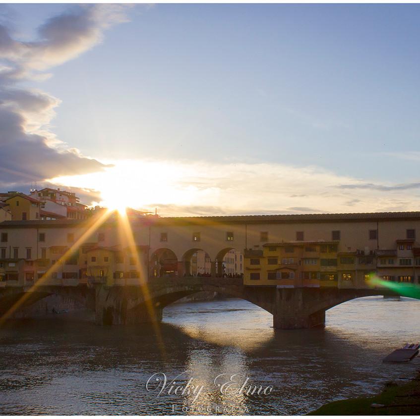 Atardecer en Ponte Vecchio