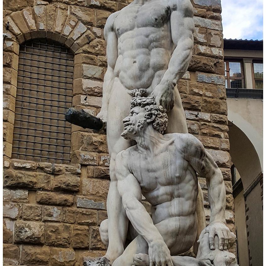 Hercules y Caco
