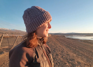 Un Atardecer en la Playa del Lago Argentino