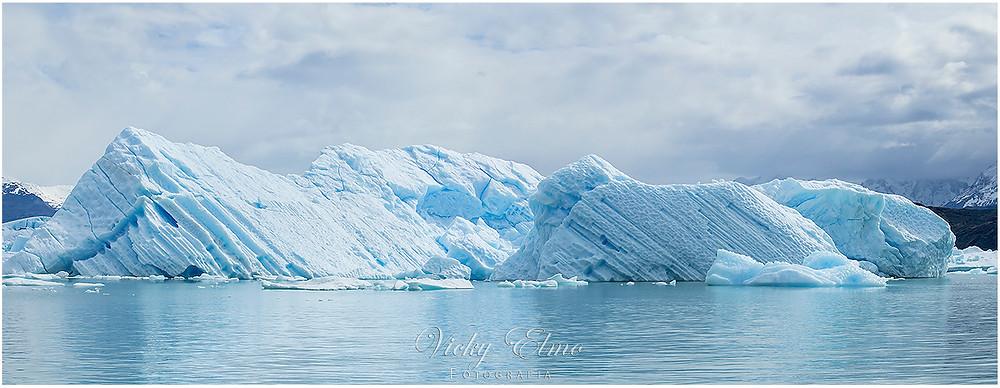 Témpano en el Lago Argentino