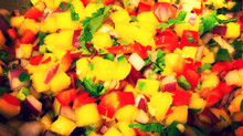 Mamina's Mango - Cilantro Salsa