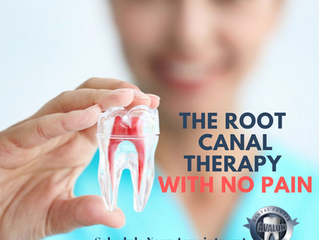 The Root Canal Therapy With No Pain