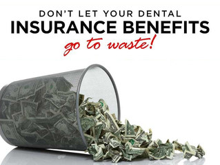 Tick tock: Don't Let Your Dental Insurance Benefits Go to Waste