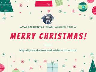 Twelve Tips of Christmas For Dental Health