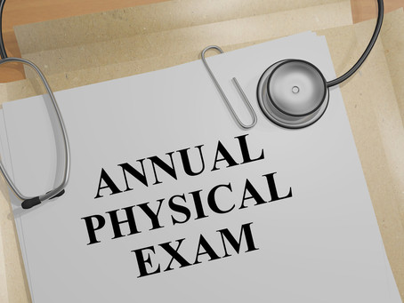 Schedule Your Annual Physical Checkup