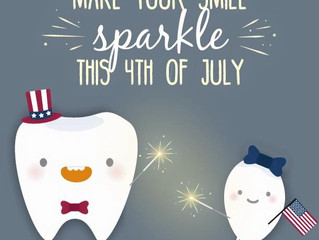 Dental Tips for Independence Weekend!
