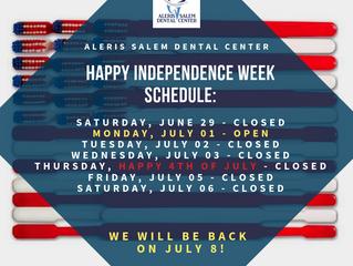 Happy Independence Week Schedule