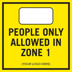 People allowed in Zone 1
