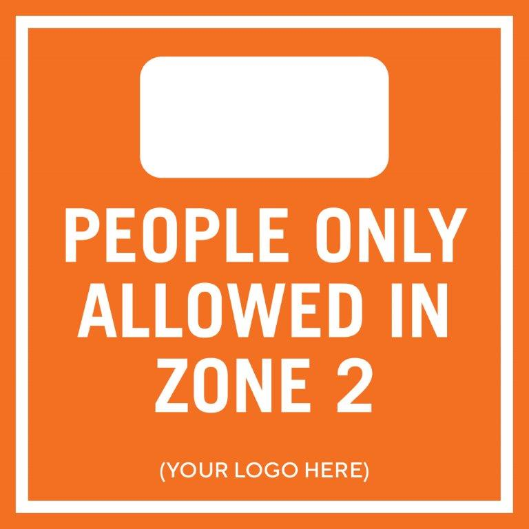 People Allowed in Zone 2