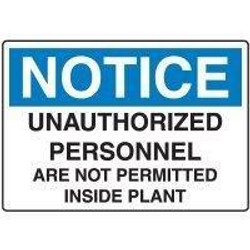 No Unauthorized Personnel