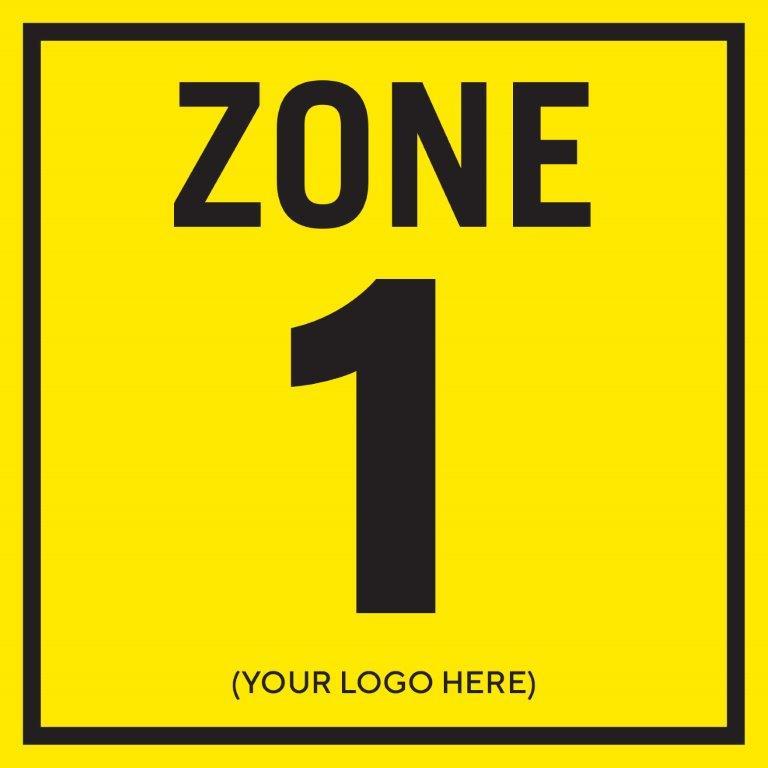 Zone 1 - Square