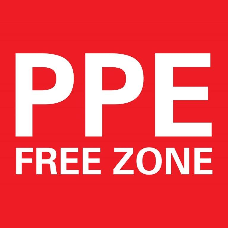 PPE Free Zone