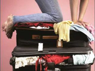 5 Dicas de Ergonomia na hora de arrumar as malas para viajar