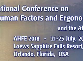 AHFE - Applied Human Factors and Ergonomics
