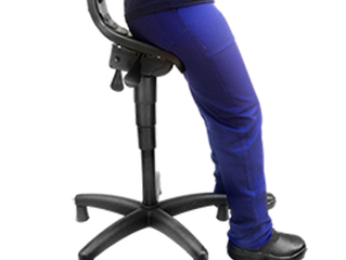 Como utilizar corretamente o banco semi-sentado