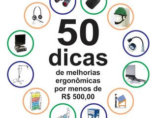 50 melhorias ergonômicas por menos de R$ 500,00