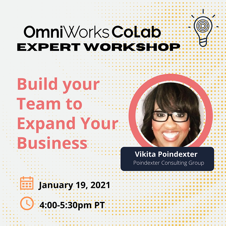 Build your Team to Expand your Business!