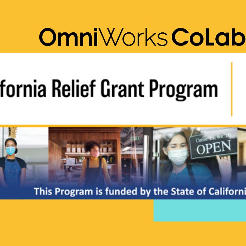 California Relief Grant Webinar