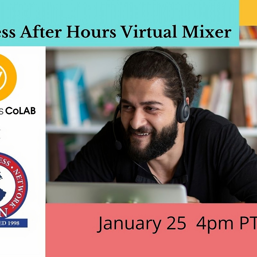 Business After Hours Virtual Mixer (January 25)