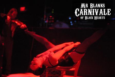 Mr Blank's Carnivale of Black Hearts