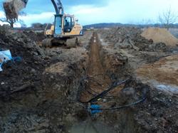 Ground source instalation