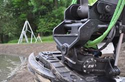 X18 Steelwrist tiltrotator with grip